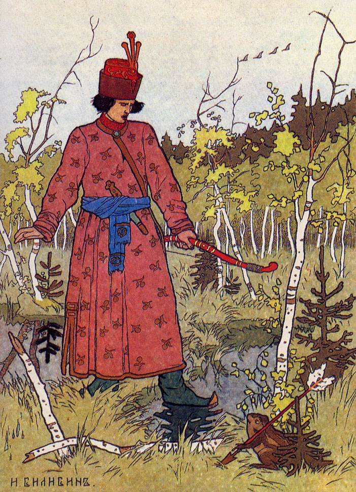 Иллюстрация к сказке 'Царевна-лягушка'